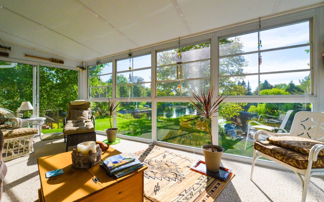 Enjoy the outside from the inside with a beautiful sunroom