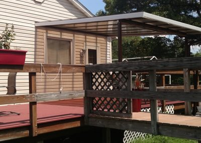 Porch enclosure 14